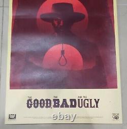 Le Bon La Bande Et L'ougly (os 14 X 36) Par La Boca Original Rolled Rare