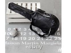 Margiela H&m Rare En Cuir Noir Grand Sac De Guitare Bnwt