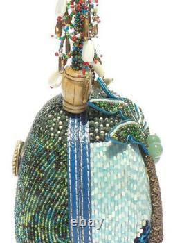 Mary Frances Coconut Grove Sac À Main Nouveau Sac De Purse Palm Tree Seahorse Rare USA