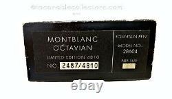 Montblanc Octavian Patron Des Arts Le 4810 Fountain Pen 1993 F