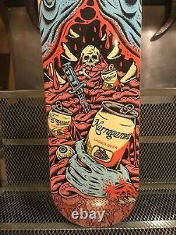 Narragansett Beer Rare Jaws Shark Art Skate Deck Advertising Board Sign B