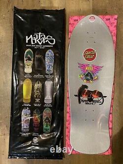 Natas Kaupas Blind Bag Santa Cruz Skateboard Deck Rare Sarcelle Prismatic Foil Sma