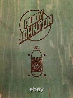 Nos Rare Blind Skateboard Deck Rudy Johnson Nude 2010 Screened Lee Marc Mckee