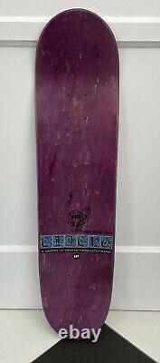 Nouveau Cliche Dernière Cène Skateboard Deck Nos Très Rare Mckee Signé Puig Hiver