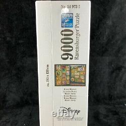 Nouveau Rare Ravensburger À La Retraite Disney Museum 9000 Pièce Puzzle Massif