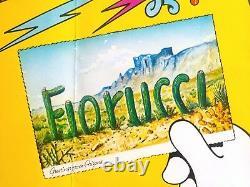 Original Vintage 1981 Rare Fiorucci Arizona New Wave Affiche De Mode Italienne