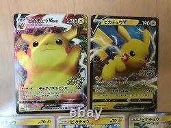 Pokemon Card Amazing Voltecker VIVID Pikachu Vmax Promo Special Art Ensemble Complet