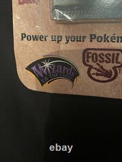 Pokemon Fossil Blister Booster Pack Lapras Art Wotc 1999 Pack Rare Scellé