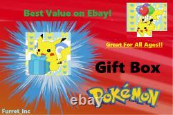 Pokemon Gift Box Booster Boxes/packs/cards Ultra Rares, Full Art, Charizard