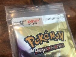 Pokemon Neo Destiny 1ère Édition Booster Pack Celebi Cover Art Sealed! Rare
