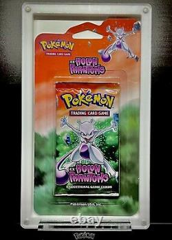 Pokemon Scellé 2006 Holon Phantoms Blister Pack Mewtwo Art Rare