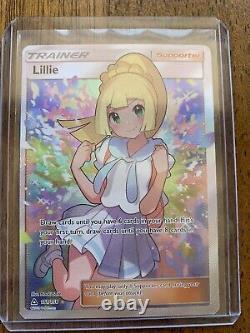 Pokemon Tcg Lillie 151/156 Full Art Trainer Secret Rare Ultra Prism