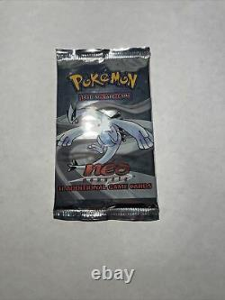 Pokemon Tcg Lugia Pack Art Scellé 2000 Neo Genesis Unlimited Booster Pack