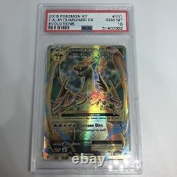Pokémon Xy M Charizard Ex 101/108 Full Art Holo Foil Gem Mint Psa 10 #062