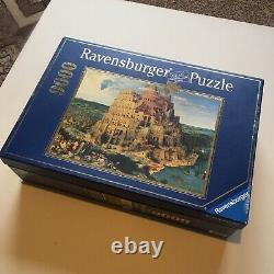 Rare! 9000 Photos Ravensburger Jigsaw Puzzle Tower Of Babel Made In MID 90s