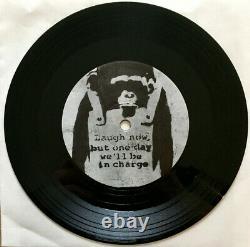 Rare Album De Vinyle De Banksy 2007 Art Sl-27 7 Lp Limited Tour Édition X/50