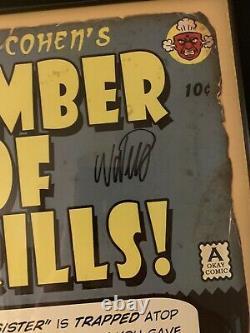 Rare Chambre Bioshock De Thrills Signé Et Numéroté Ensemble De 3 Robb Waters 18/50