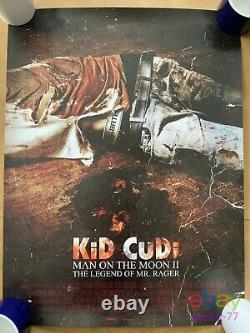 Rare Kid Cudi Man On The Moon II M. Rager Promo Poster #1026 Sorti De #1109