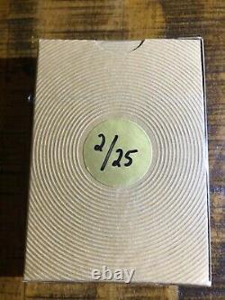 Rare King Wild Project Pi Craft Edition Gilded #2/25 Cartes De Jeu De Pont