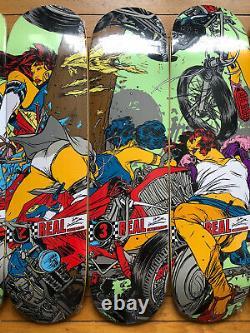 Rare Nos Real Peter Ramondetta Skateboard Crash Chopper Hot Rod Harley 32 Ford