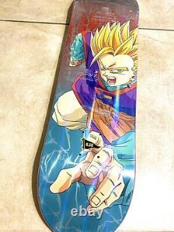 Rare Primitive X Dragon Ball Z Gohan Taille Exclusive 8.38 Skateboard Deck
