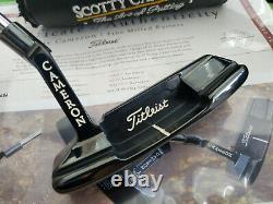 Rare Scotty Cameron L'art De Mettre Newport Deux Black Putter 35 Coa Minty