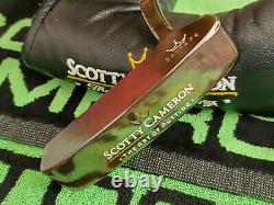 Rare Scotty Cameron Santa Fe Oil Can The Art Of Putting Putter 35 Nouveau