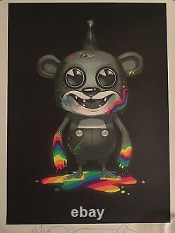 Rares Industries Clandestines Décès De Néon Poster Imprimer Pete Wentz Fall Out Boy