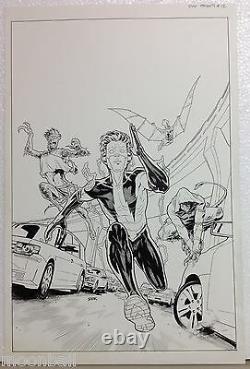 Rayons! D'origine DC Universe Présentations #12 Couverture Art Ryan Sook Kid Flash Nouveau 52