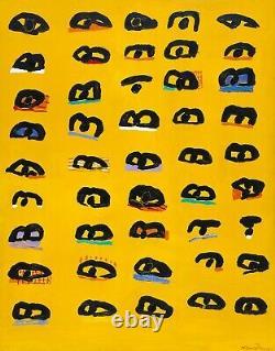 Rayons! Ken Done Signé, Édition Limitée Imprimer Sunbakers Ii, 1995