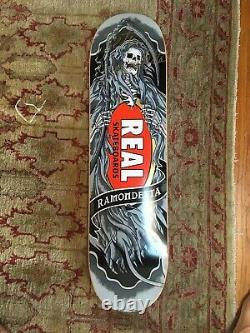 Real Skateboards Signé Peter Ramondetta Brand New Rare Collector Board