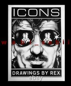 Rex Icons Mint New Sealed Vtg 1970s Cuir Boeuf Cake Mâle Nu Rare Gay Art Sale