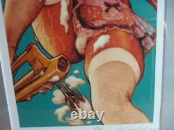 Rockin' Jelly Bean Giclee Art Print Poster Whip Femme Erostika New Rare