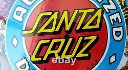 Santa Cruz 30e Anniversaire Concessionnaire Clock Deck Rare Skateboard Nos Rare