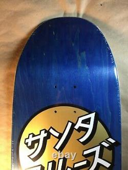 Santa Cruz Group Dot Preissue Skateboard Deck Rare 9.5 Old School Shape