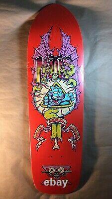 Santa Monica Airlines Natas X Burrito Breath Skateboard Deck Sma Rare Red Dip