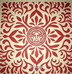 Shepard Fairey Tissu Japonais Patten Ensemble Rare Signé Numéroté Obey Impression Affiche