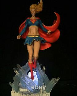 Super Girl Man Statue Sculpture Art Nt XM Sideshow Prime 1 DC Comics / Nouveau Rare