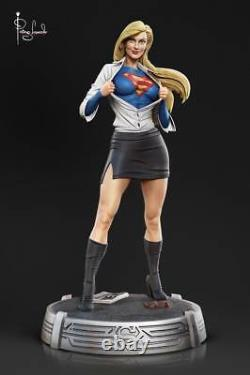 Super Girl Man Statue Statue Sculpture Art Nt XM Sidehow Prime 1 DC Comics / Nouveau Rare