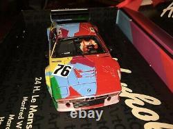 Super Rare & Difficile À Trouver! Voler Andy Warhol Bmw M1 Art Voiture Fente Voiture