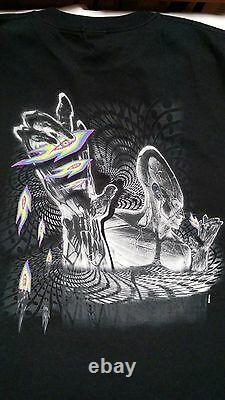 T-shirt Tool 2002 Tour Latelus XL (nouveau!) Alex Grey Artwork Long Oup Mega Rare