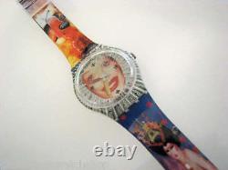 Temps Tranny-variante! Swatch Amanda Lepore Art Special Par Lachapelle! Nib/x-rare