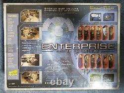 Très Rare Star Trek Enterprise T'pol & Bridge Station Art Asylum Broken Bow