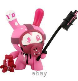 Tristan Eaton Pink Tag Team Dunny Fatcap Set Vinyl Art Figure Rare! Kidrobot Kidrobot Kidrobot