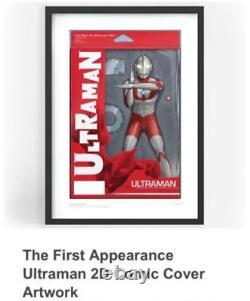 Ultraman Nft Première Apparition 2d Comic Cover Artwork Secret Rare- Conf Ord