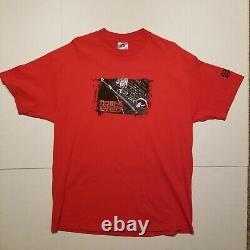 Vintage Cowboy Bebop Mens Anime T Shirt Rouge XL Spike Vicious Rare Sunrise Akira