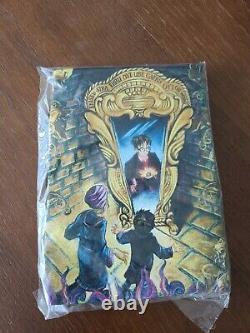 Vintage Harry Potter Taille XL T Shirt 2000 Livre De Pierre De Sorcier Art Promo Rare