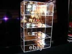 Vitrine Auto Art Echelle 1/18 Eme Pour 4 Modeles Superbe Et Tres Rare Sold Out