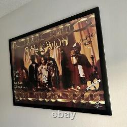 Wu-tang Poster Raekwon Cuban Linx Signed Rare Cappadonna U-god
